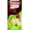 TORRAS Biela čokoláda s kiwi  - 75 g  (ES)