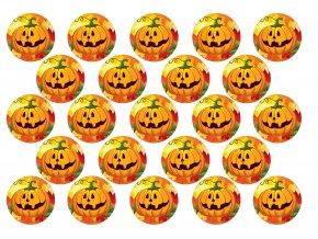Sugar sheets - 23 x Halloween kolečka H2 (průměr 4,5 cm)