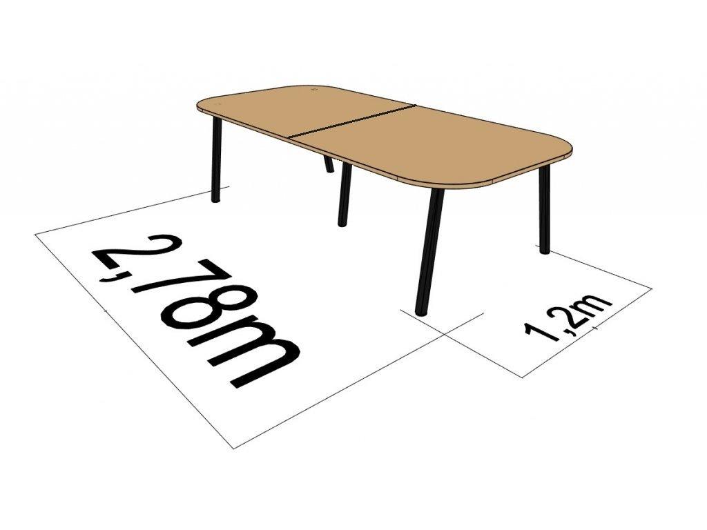 1200 X 2780 ATELIER AKÁT DŘEVODEKOR