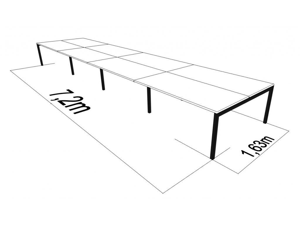 1630 X 7200 GATE Q BÍLÁ UNI