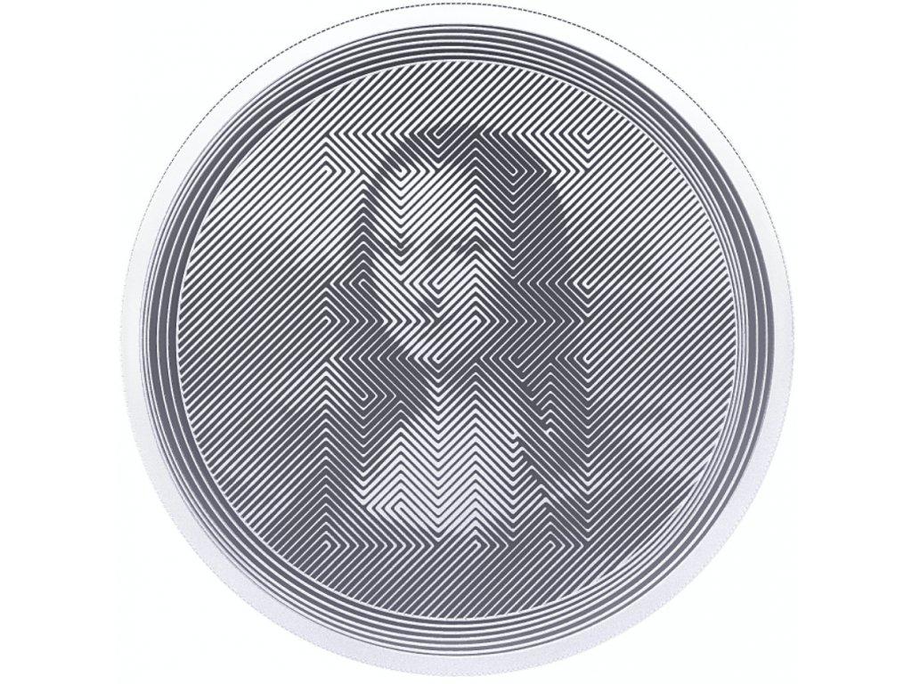 Stříbrná investiční mince 1 Oz - ICON 2021