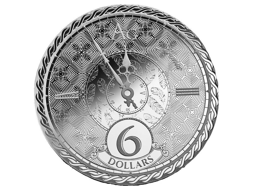 Stříbrná investiční mince 1 Oz - Chronos 2020