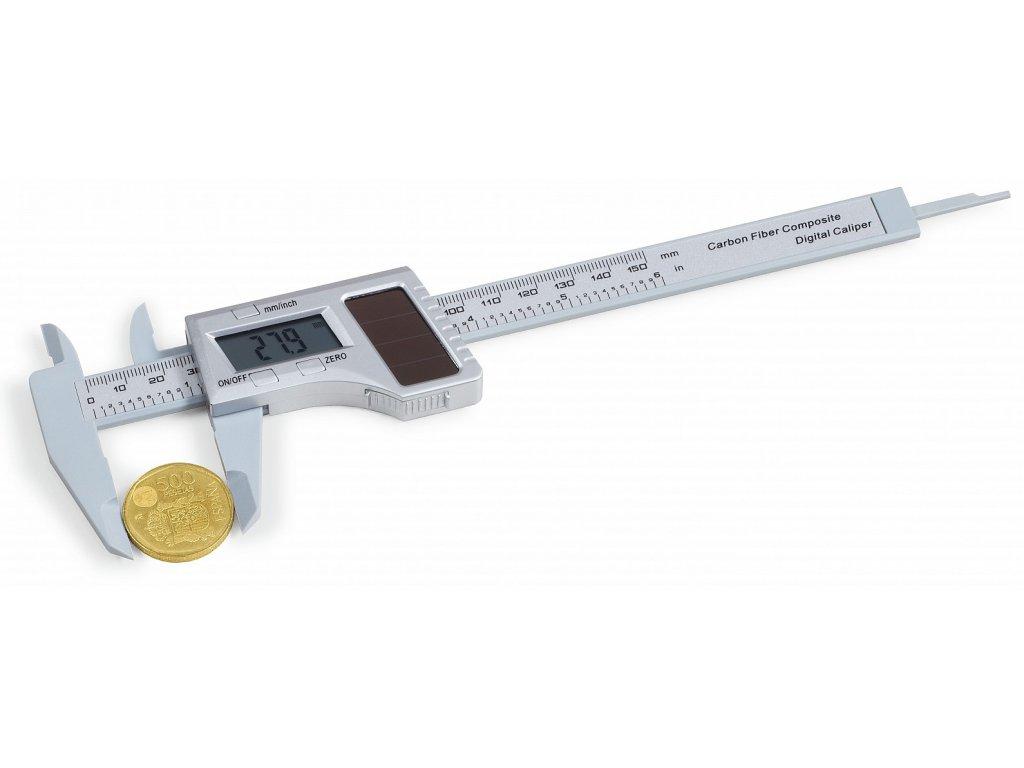 Digitální posuvné měřítko EXAKT-SOLAR Leuchtturm, měrná jednotka 0,1 mm
