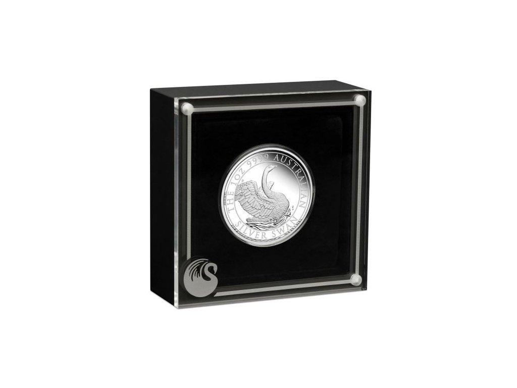 5161 04 2020 Swan 1oz Silver Proof Coin InCase HighRes