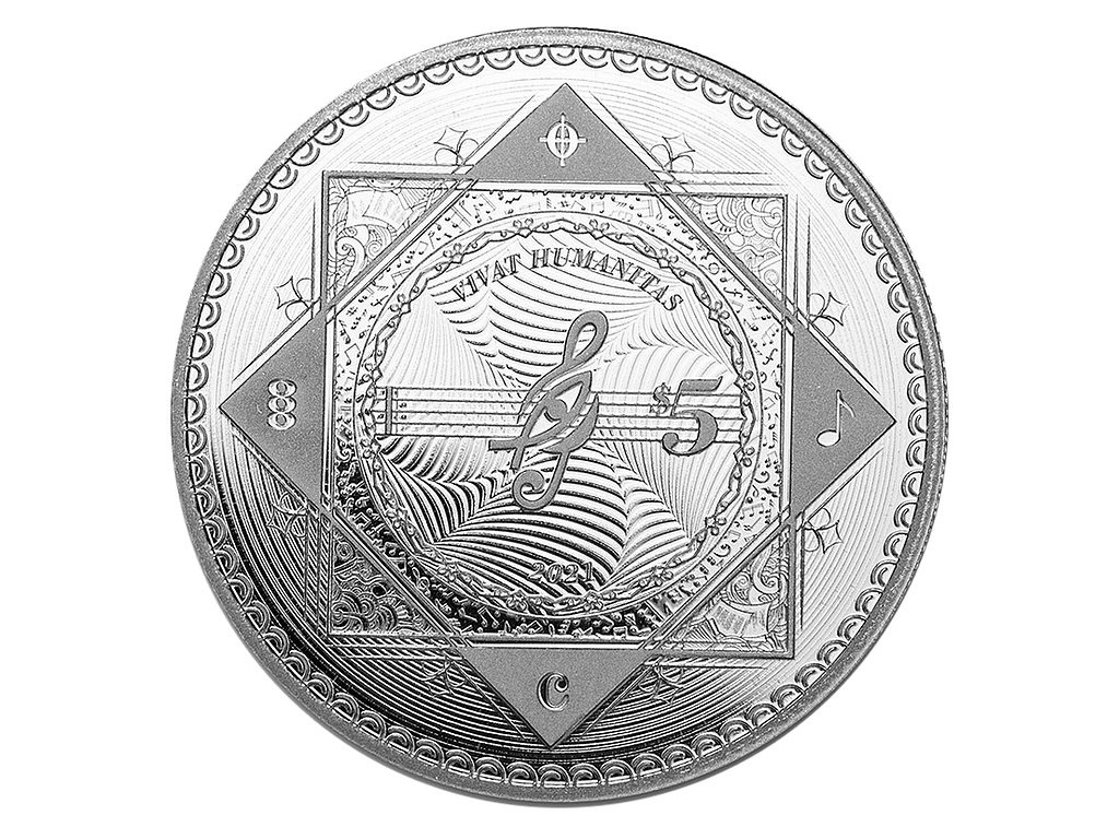 Stříbrná investiční mince 1 Oz - VIVAT HUMANITAS 2021