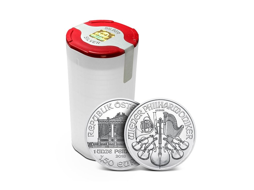 Stříbrná investiční mince 1 Oz - Wiener Philharmoniker 2021 Tuba (20ks)