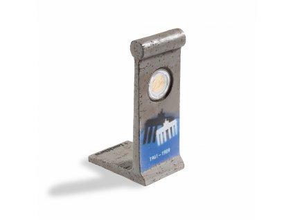 coin presenter berliner mauermit kapsel fuer 1x 2 euro gedenkmuenze