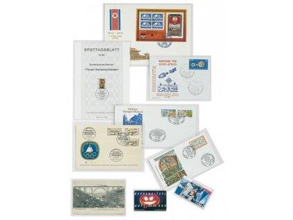 Kapsy LINDNER pro bankovky nebo certifikáty - 50 Ks