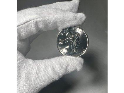 Stříbrná investiční mince 1 Oz - Maple Leaf 2021