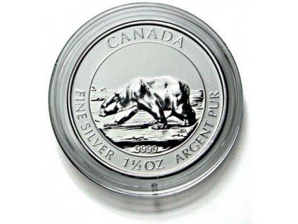 Kruhové kapsle Lindner 38,4mm - pro 1½ a 1¼ Oz mince (Polar Bear) - 10 ks