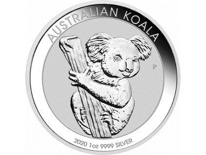 1oz Silbermuenze Australien Koala 2020 vs