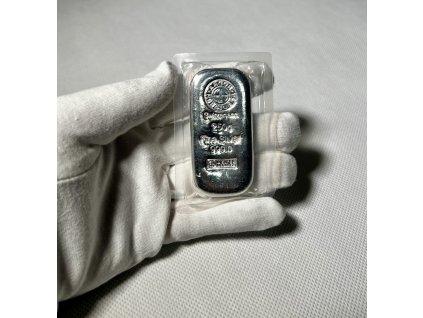 250 gram silver bar argor heraeus switzerland 75966 Slab