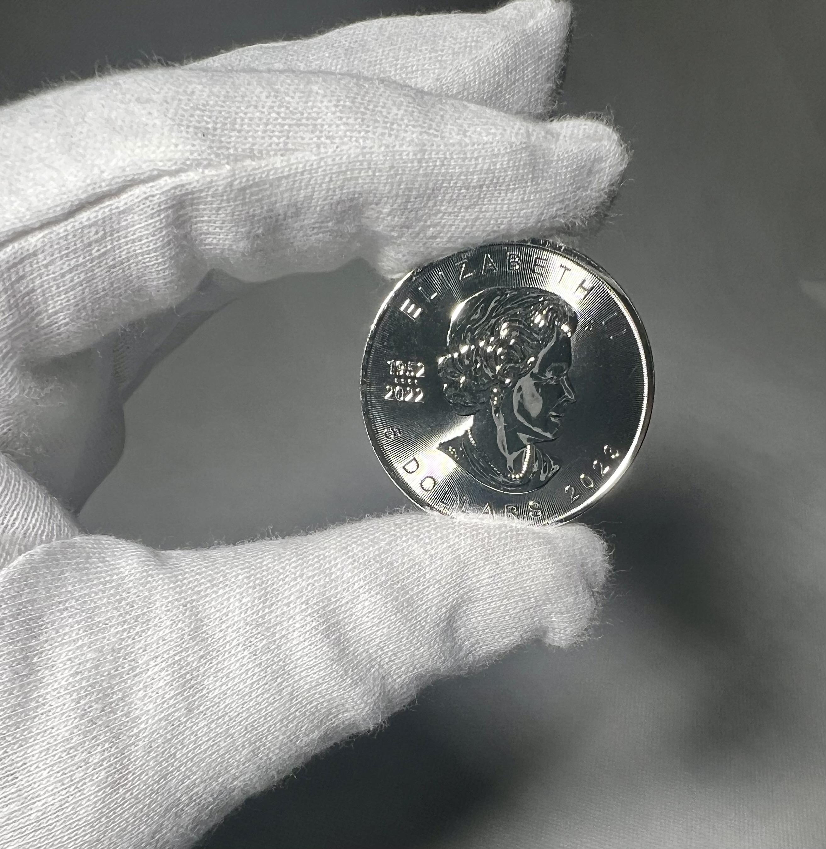 Royal Canadian Mint Stříbrná mince Maple Leaf 1 Oz