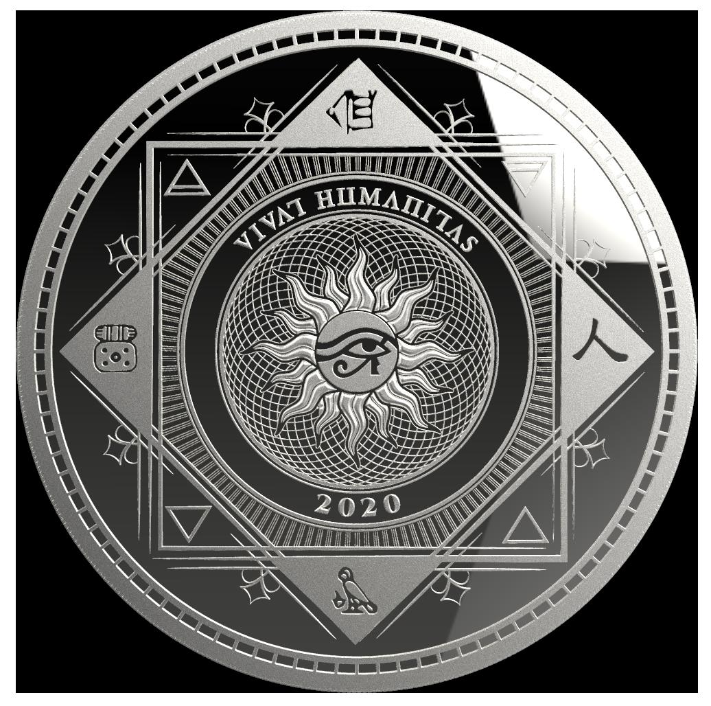 Pressburg Mint Stříbrná mince 1 Oz - VIVAT HUMANITAS 2020