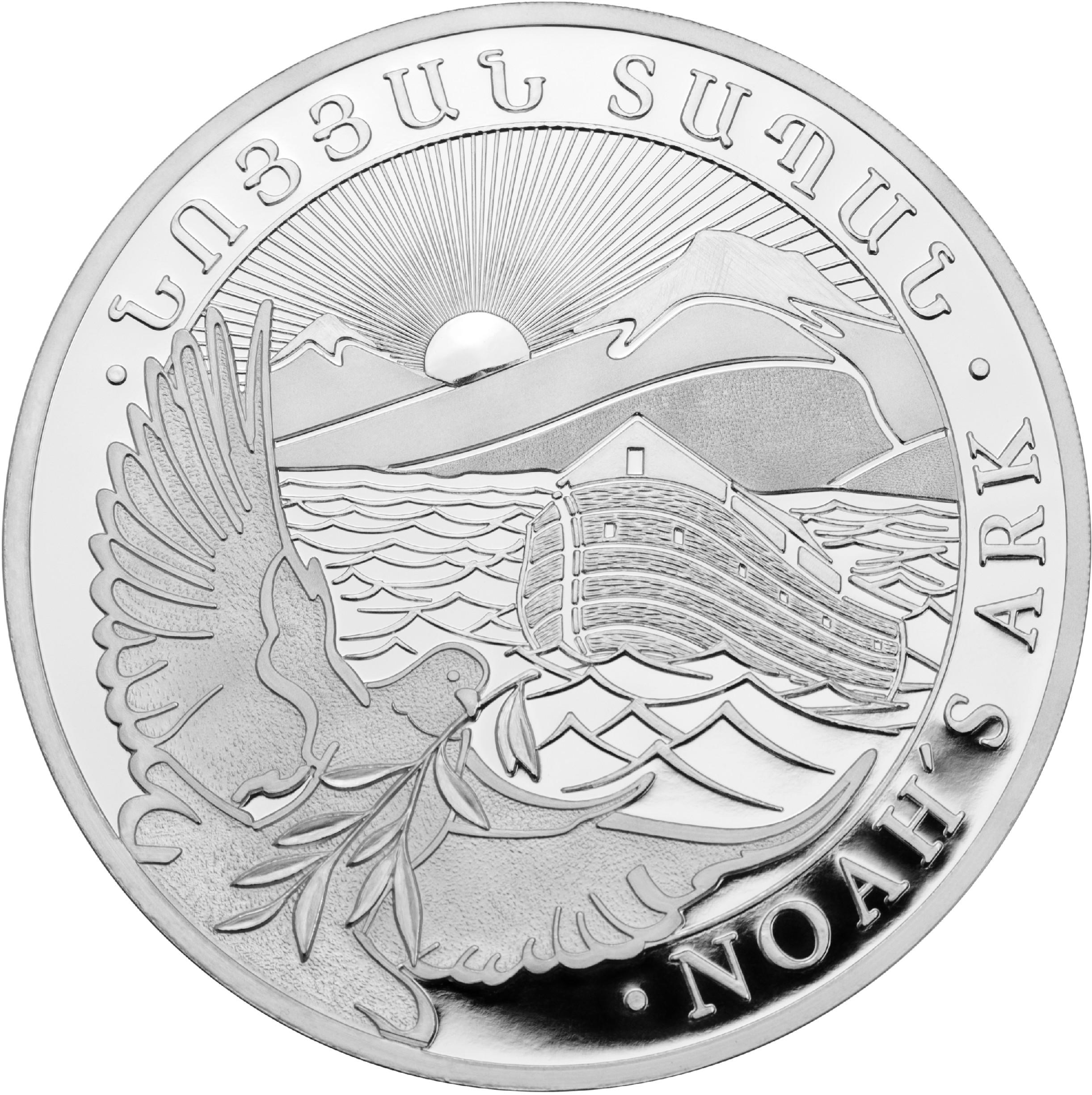 LEV Stříbrná mince 1/4 Oz - Noah´s Ark 2020