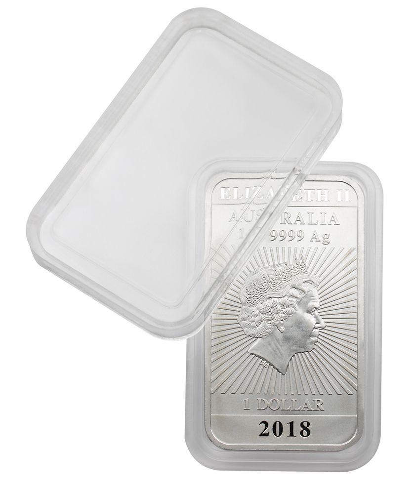 Lindner Obdélníková kapsle na stříbrné mince 1 Oz Dragon Počet: 1 Ks