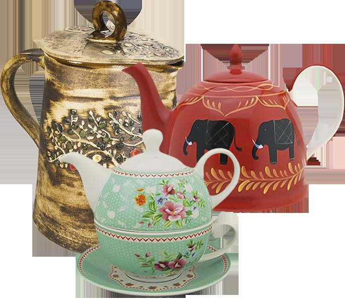 Konvice - čajníky, sety