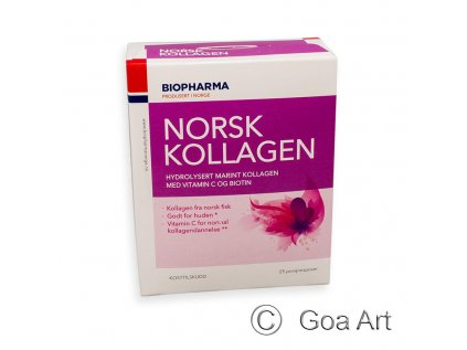 Norsk Kollagen  morský kolagén s vitamínom C
