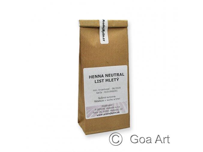 12379 Henna neutral list mlety