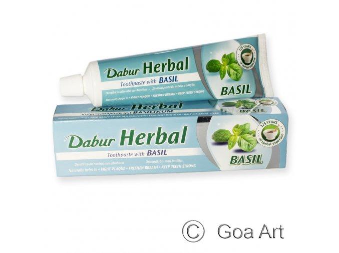 700804 Zubna pasta Herbal Basil