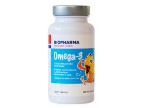 Omega-3 barn  žuvacie kapsule pre deti