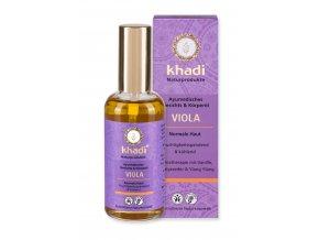 Fialka  pleťový a telový olej Khadi