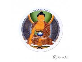 Shakyamuni Buddha  Samolepka