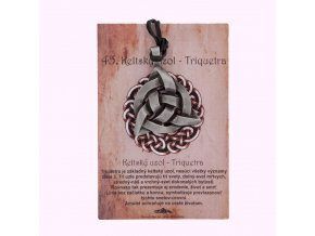 45. Keltský uzol - Triquestra