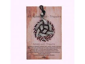 Keltský uzol - Triquestra