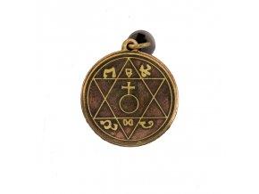 Amulet Otcov magický pentakel