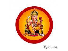 Lord Ganesha  Samolepka