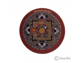 Vairochana Mandala  Samolepka mandala