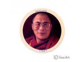 Dalai Lama  Samolepka Tibet