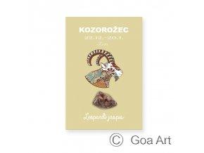 600314 Kozorozec leopardi jaspis