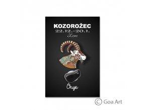 Kozorožec - ónyx
