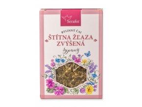 Štítna žľaza zvýšená  bylinný čaj