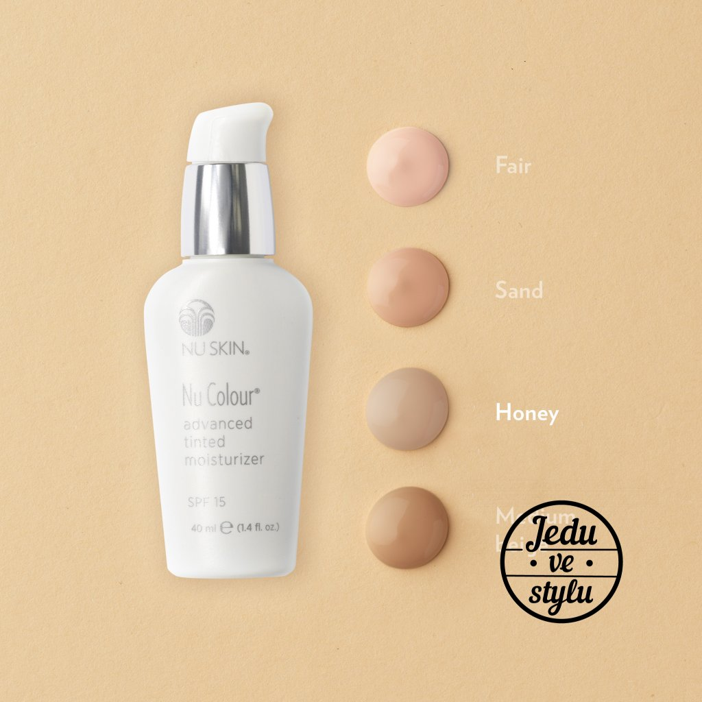 nu skin nu colour advanced tinted moisturizer honey