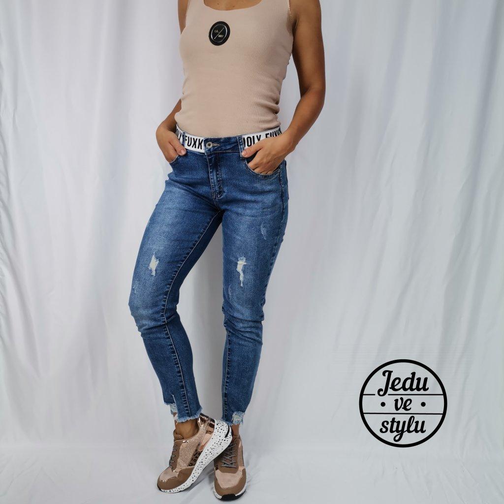 Dámské jeansy Cecile modré