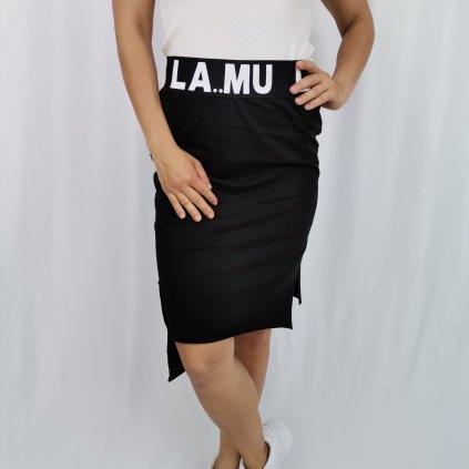 Dámská bavlněná sukně Christiane černá
