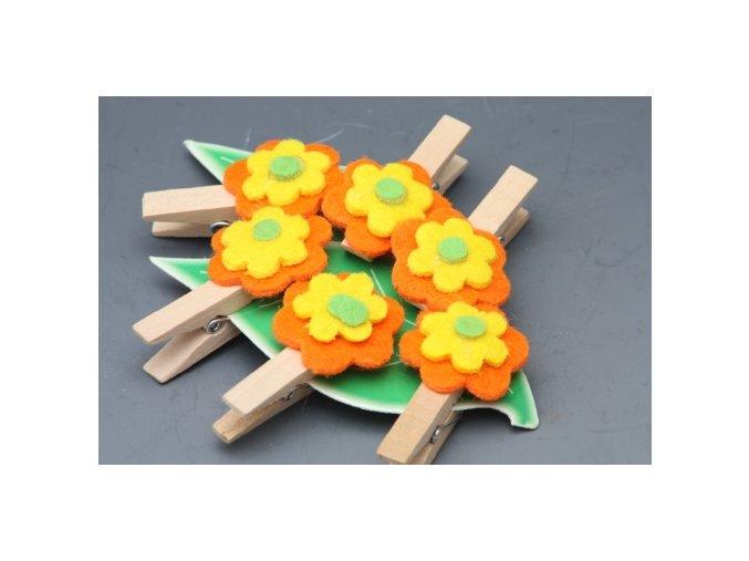 Květinka na kolíčku