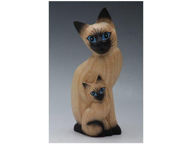 Figurka kočky S