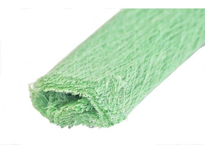 Dekorační role papíru tmavě zelená