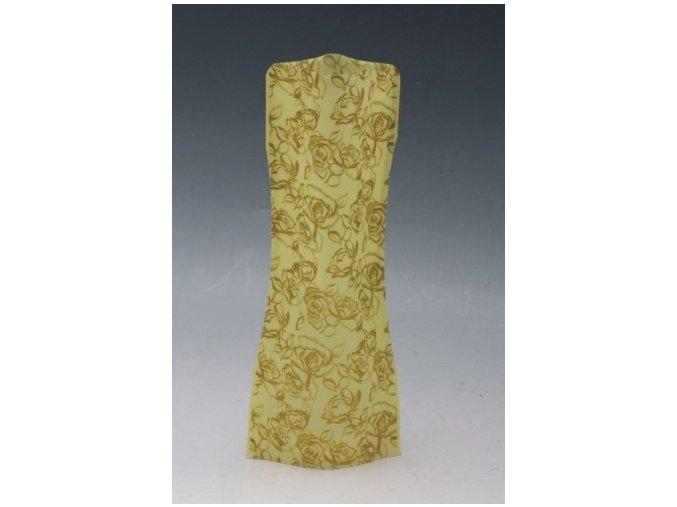 Skládací váza střední růže zlatá