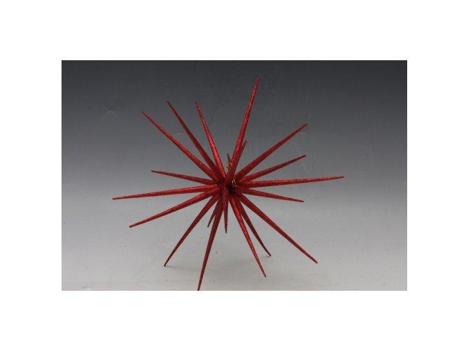 Hvězda červená 38 cm