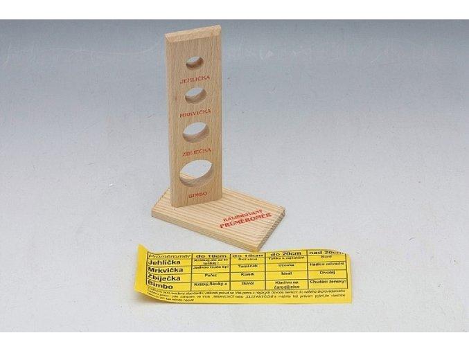 Dřevěný hloubkoměr