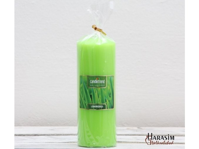 Svíčka válec Lemongrass 16,5 cm