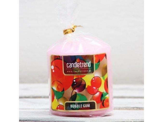 Svíčka válec Bubble Gum 5,5 cm
