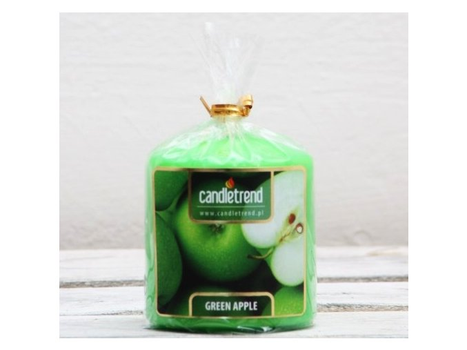 Svíčka válec Green Apple 5,5 cm