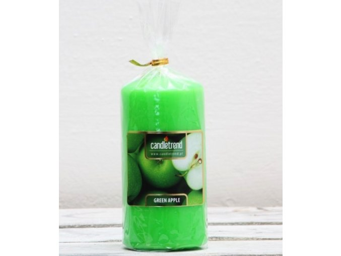 Svíčka válec Green Apple 11 cm