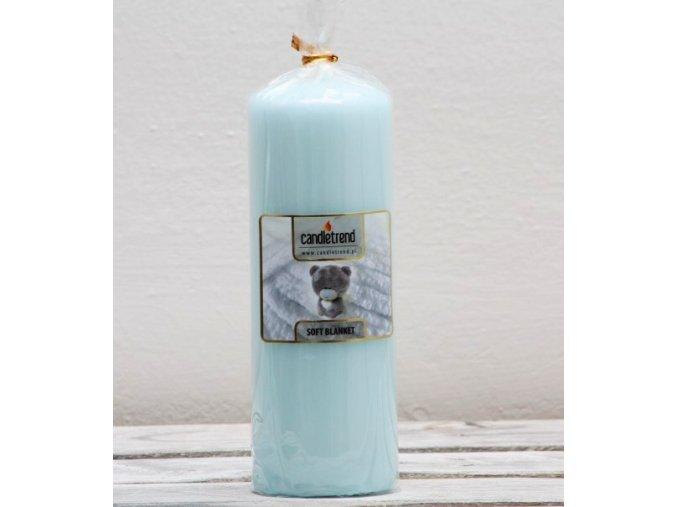 Svíčka válec Soft Blanket 16,5 cm